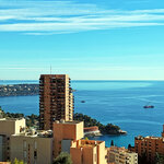 BEAUSOLEIL -  two bedrooms flat, beautiful sea view - Good deal